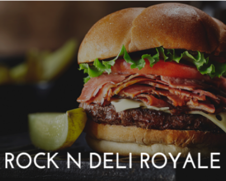 Rock'N Deli Halal Royale Burger