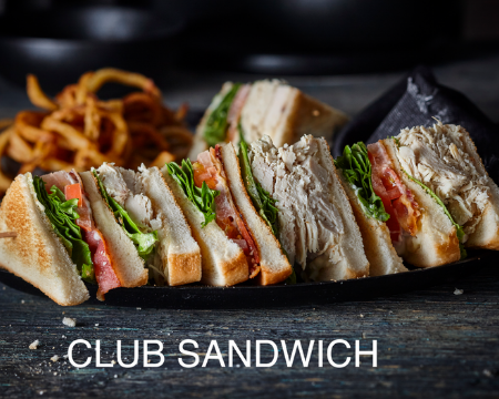 Rock'N Deli Club Sandwich Halal