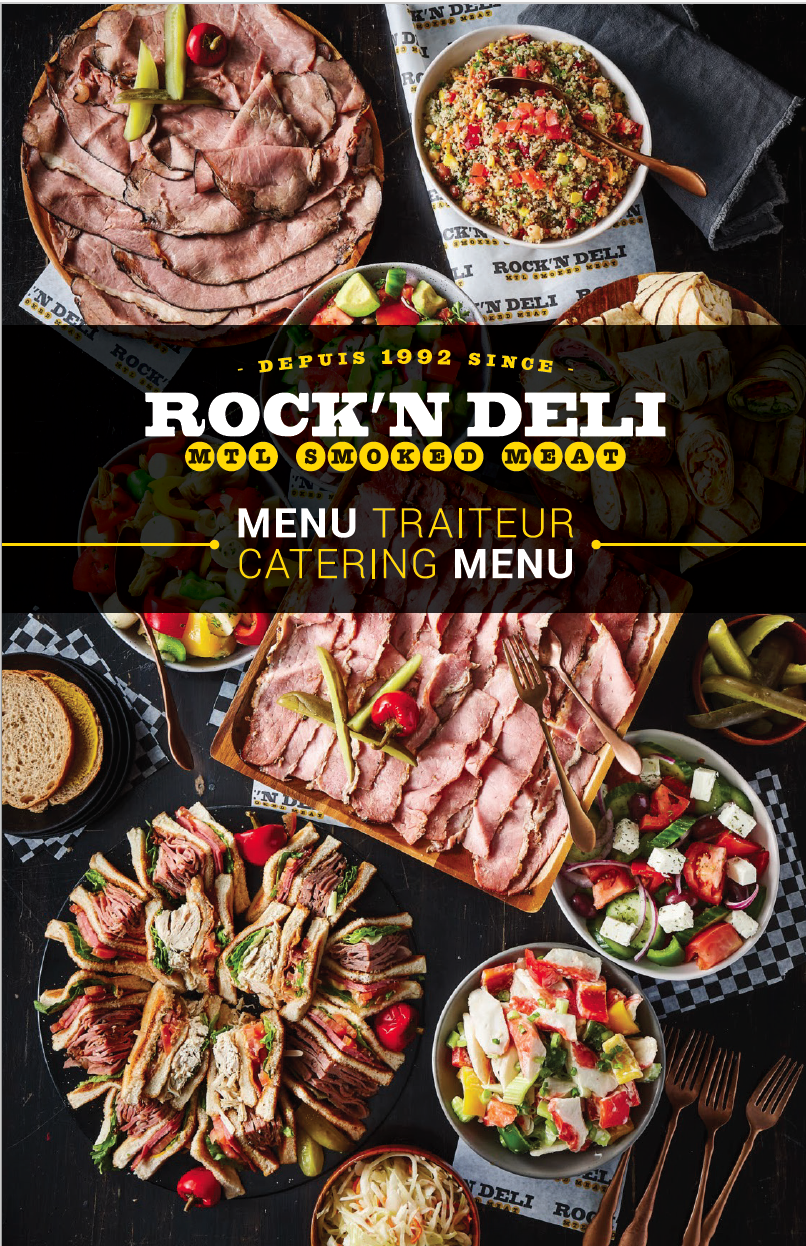 Rock'N Deli Menu Traiteur